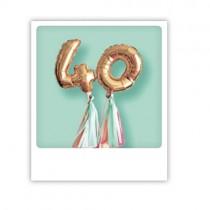 """Pickmotion Karte """"40"""""""