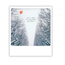 "Pickmotion Karte ""All I want for christmas"""