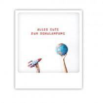 "Pickmotion Karte ""Zum Schulanfang"""