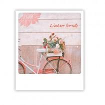 """Pickmotion Karte """"Fahrrad Gruß"""""""