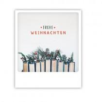 """Pickmotion Karte """"Frohe Weihnachten Bücher"""""""