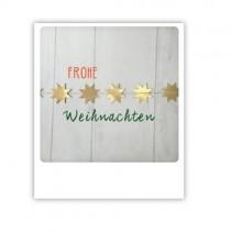 """Pickmotion Karte """"Frohe Weihnachten Girlande"""""""