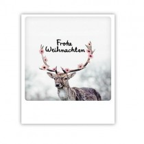 """Pickmotion Karte """"Frohe Weihnachten Hirsch"""""""