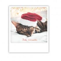 """Pickmotion Karte """"Frohe Weihnachten Katze"""""""