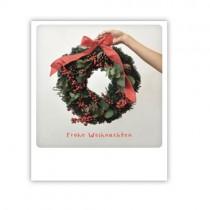 """Pickmotion Karte """"Frohe Weihnachten Kranz"""""""