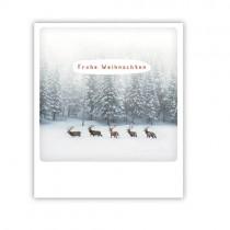 """Pickmotion Karte """"Frohe Weihnachten Rentiere"""""""
