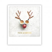 """Pickmotion Karte """"Frohe Weihnachten rote Nase"""""""