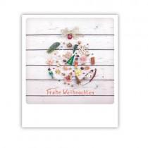 """Pickmotion Karte """"Frohe Weihnachten Sachen"""""""