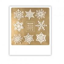 """Pickmotion Karte """"Frohe Weihnachten Schneeflocken"""""""