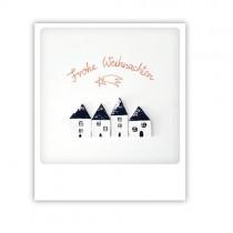 """Pickmotion Karte """"Frohe Weihnachten Sternschnuppenstadt"""""""