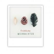 """Pickmotion Karte """"Frohe Weihnachten Tannenzapfen"""""""