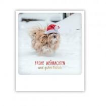 """Pickmotion Karte """"Frohe Weihnachten und einen guten Rutsch"""""""