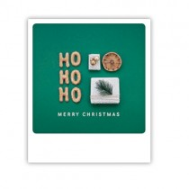 "Pickmotion Karte ""Green Ho Ho Ho"""
