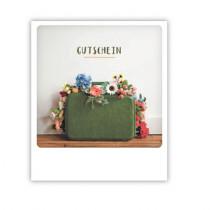 """Pickmotion Karte """"Gutschein Kofferblume"""""""