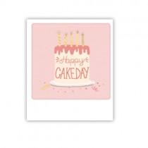 "Pickmotion Mini Pic Karte ""Happy Cakeday"""