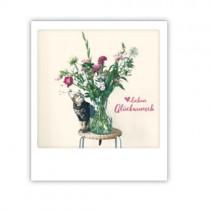 """Pickmotion Karte """"Herzlichen Glückwunsch Blumen"""