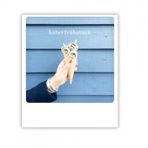 "Pickmotion Karte ""Katerfrühstück"""