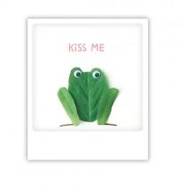 "Pickmotion Karte ""Kiss me frog"""