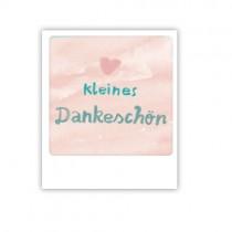 """Pickmotion Mini Pic Karte """"Kleines Dankeschön"""""""