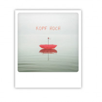 "Pickmotion Karte ""Kopf hoch"""