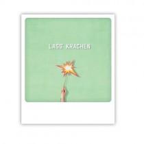 """Pickmotion Karte """"Lass' krachen"""""""