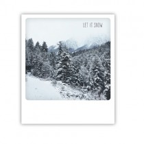 "Pickmotion Karte ""Let it snow"""