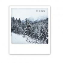 "Pickmotion Karte ""Let it snow"""