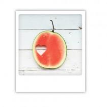 "Pickmotion Karte ""Melonenherz"""