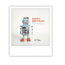 "Pickmotion Karte ""Roboter Happy Birthday"""