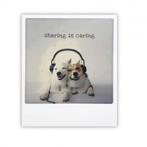 """Pickmotion Karte """"Sharing is caring"""""""