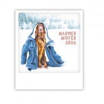 "Pickmotion Karte ""Warmer Wintergruß"""