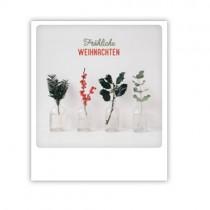 """Pickmotion Karte """"Weihnachtspflanzen"""""""