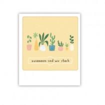 """Pickmotion Mini Pic Karte """"Zusammen sind wir stark"""""""