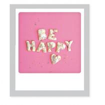 "Pickmotion Klappkarte ""Be happy"""