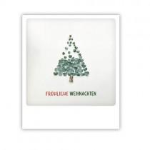 """Pickmotion Karte """"Fröhliche Weihnachten Blätterbaum"""""""