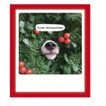 "Pickmotion Klappkarte ""Frohe Weihnachten Hundeschnauze"""