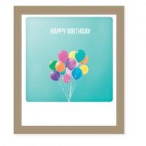 "Pickmotion Klappkarte ""Happy Birthday Colours"""