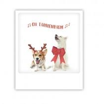 """Pickmotion Karte """"Oh Tannenbaum Hundeduett"""""""