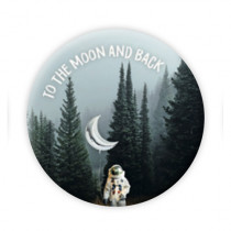 "Pickmotion Magnet 56mm ""To the moon and back"""