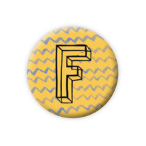 Pickmotion Magnet Buchstabe F
