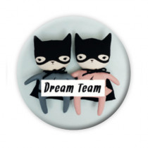 "Pickmotion Magnet 56mm ""Dream Team"""