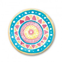 Pickmotion Magnet 32mm Mandala Blau