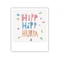 """Pickmotion Mini Pic Karte """"Hipp Hipp Hurra"""""""
