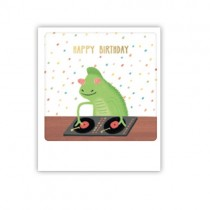 "Pickmotion Mini Pic Karte ""Happy Birthday DJ"""