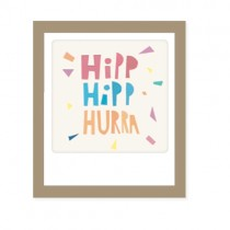 """Pickmotion Mini Pic Klappkarte """"Hipp Hipp Hurra"""""""