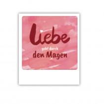 """Pickmotion Mini Pic Karte """"Liebe geht durch den Magen"""""""