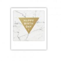 "Pickmotion Mini Pic Karte ""Marblelovers Happy Birthday"""