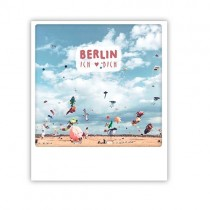 "Pickmotion Karte ""Tempelhof Kite Love"""