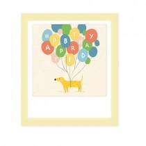 """Pickmotion Mini Pic Klappkarte """"Happy Birthday Dog"""""""
