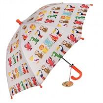 Kinder Regenschirm Bunte Tierfreunde Mix